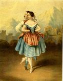 [La Redova Polka danced by Mlle Cerito and M. St Leon]